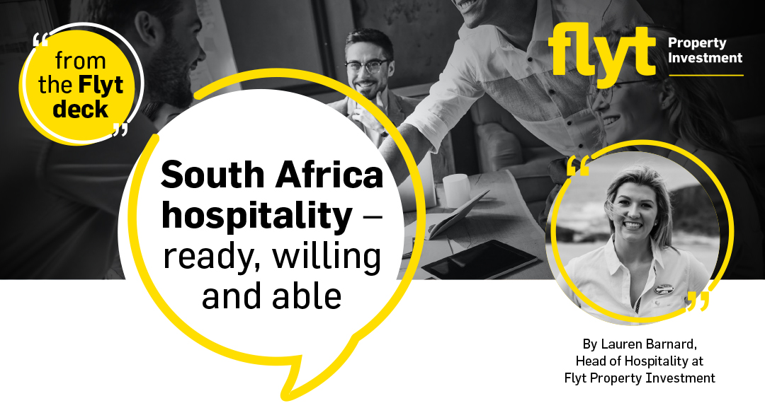 South Africa hospitality – ready, willing and able